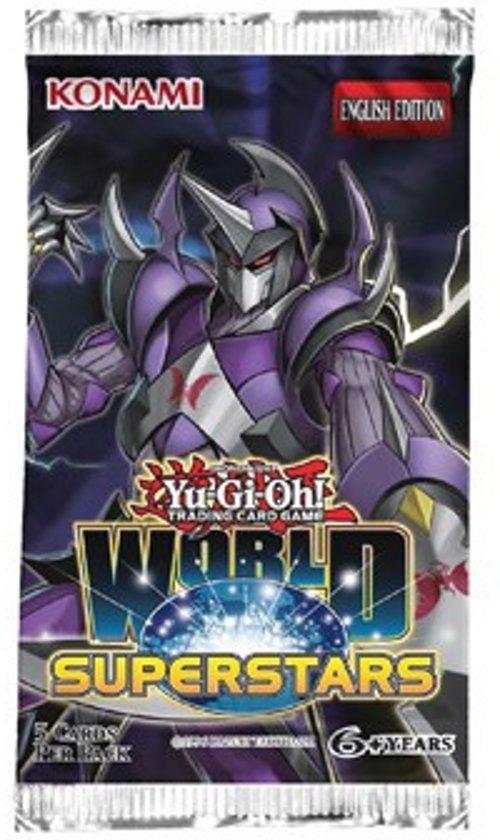 Afbeelding van het spel Yu-Gi-Oh! World Superstars Booster pack