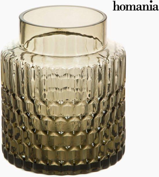 Vaas Glas - Crystal Colours Deco Collectie by Homania
