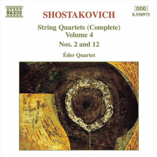 Shostakovich: String Quartets Vol 4 / eder Quartet