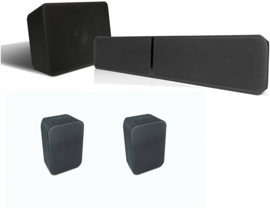 Bluesound Soundbar + Subwoofer + 2X Pulse Flex (voordeel: â¬250)