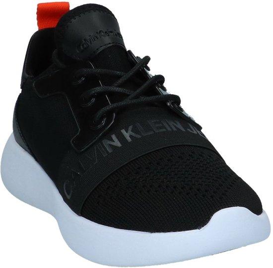 Calvin Sneaker Black Zwart;zwarte Meryl Klein Laag 36 Gekleed Dames Maat rAgrHwEqc