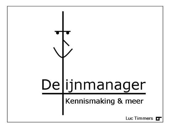 Cover van het boek 'De Lijnmanager' van Luc Timmers
