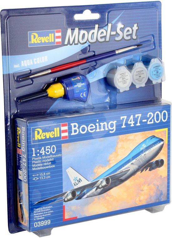 Revell Model Set - Boeing 747-200