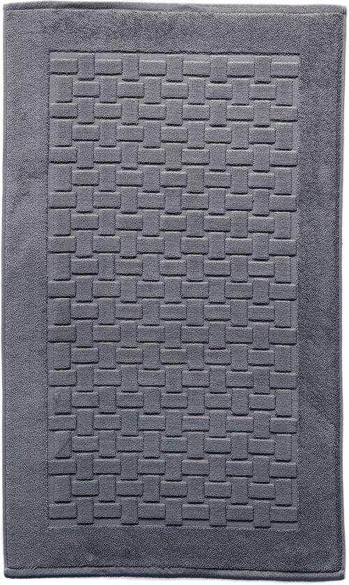 Casilin Ritz - Badmat - Grijs - 70 x 120 cm