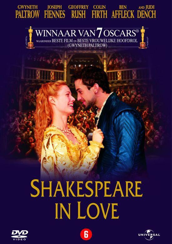 Cover van de film 'Shakespeare In Love'