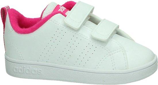d4e3e260ad7 bol.com | adidas VS Advantage Clean - Sneakers - Meisjes - Wit - Maat 25