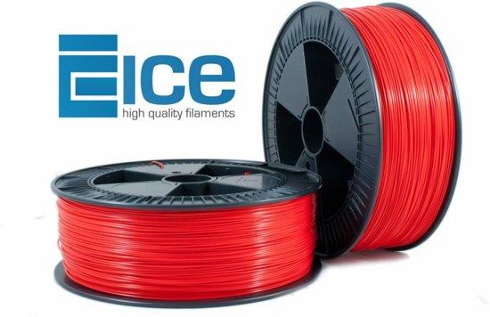 ICE Filaments PLA 'Romantic Red' - 2.3 kg