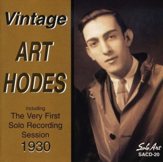 Vintage Art Hodes - The Very First Solo Recording