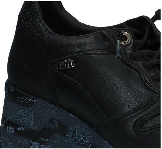 1145 Zwart;zwarte Negro C Maat Napa Cetti Sra 37 Dames wxP7qn51