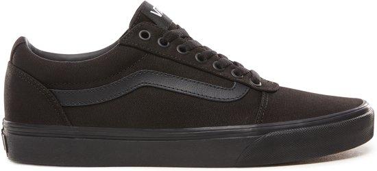158c4bc98aa Vans Ward Sneakers Heren - Maat 42 - (Canvas) Black/Black
