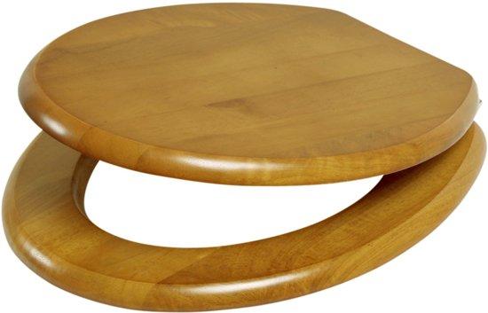 Bol.com plieger classic wc bril massief hout eiken