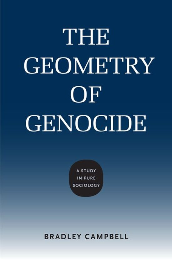 The Geometry of Genocide