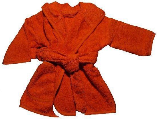 Badjas - 0 tot 12 maanden Oranje