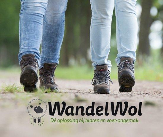 WandelWol 20 gram - De oplossing bij blaren en voet ongemak - antidruk & antiblaar