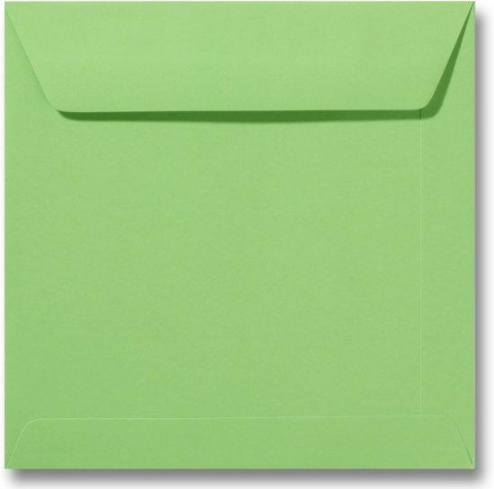 Envelop 22 x 22 Appelgroen, 100 stuks