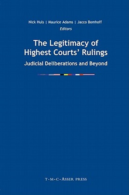 The Legitimacy of Highest Courts' Rulings