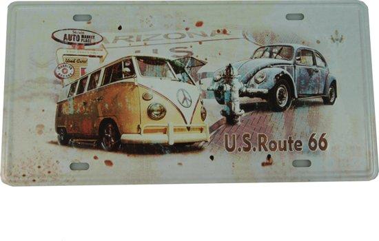 Retro Wandbord - Volkswagen bus bord - W bus bord - Peace bus bord - T1 bord -Muur Decoratie - Metalen bord - Emaille Reclame bord - Wandborden - Mannen cadeau - Mancave Decoratie - Garage - Bar - Cafe - Restaurant Style