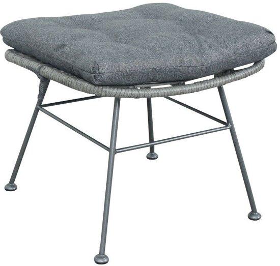 Relaxstoel Met Hocker.Leco Hocker Voor Relaxstoel Martha Wicker 50x47x40 Cm