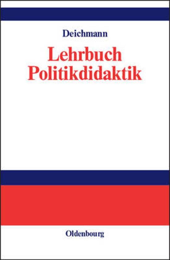 Lehrbuch Politikdidaktik