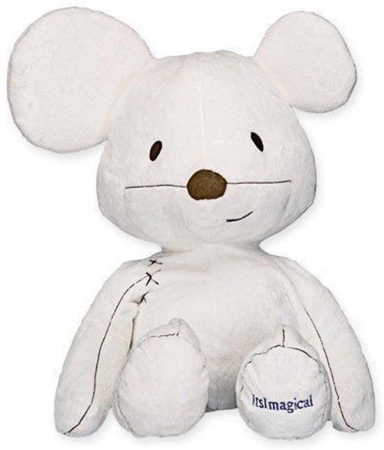 Imaginarium Kiconico XL - Grote Muis knuffel - Wit