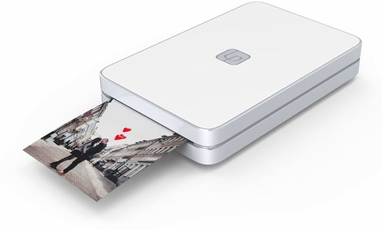 Lifeprint Mobiele fotoprinter 2x3 Foto en Video - Wit