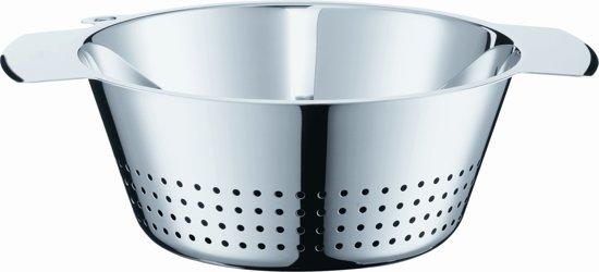 Habonne Vergiet - Roestvrijstaal - robust - Ø 20 cm - Zilver