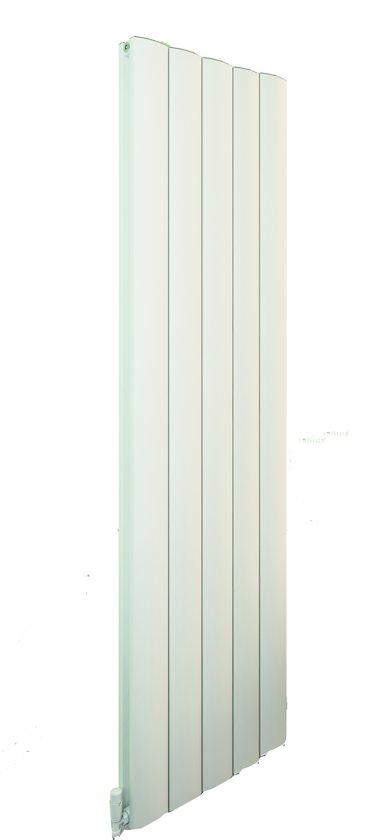 Radiator Verticaal Design.Design Radiator Verticaal Aluminium Mat Wit 180x47cm 2280 Watt Guardia