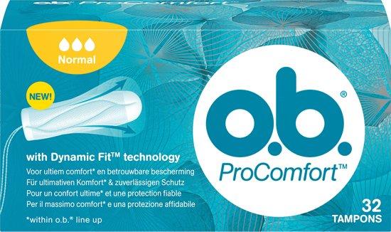 O.B. ProComfort - Normaal - 32 st - Tampons