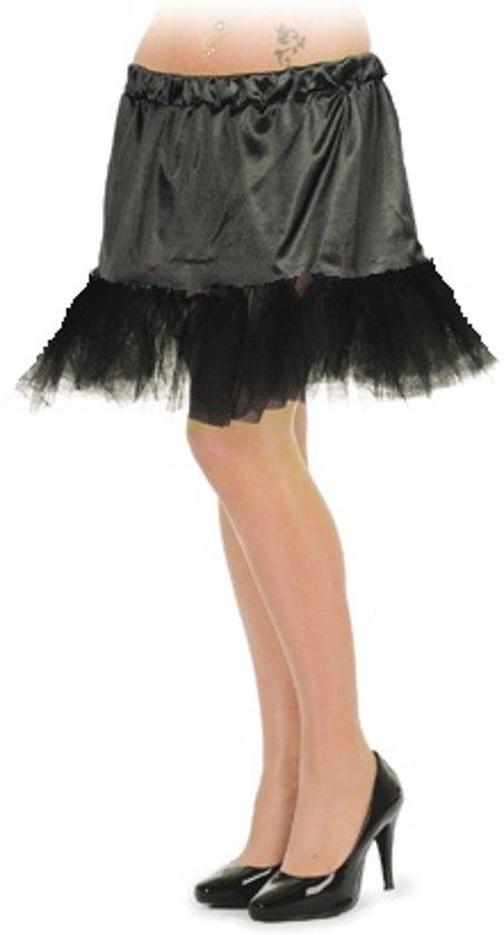 57b9cbbd0c5 bol.com | Petticoat kort zwart voor dame