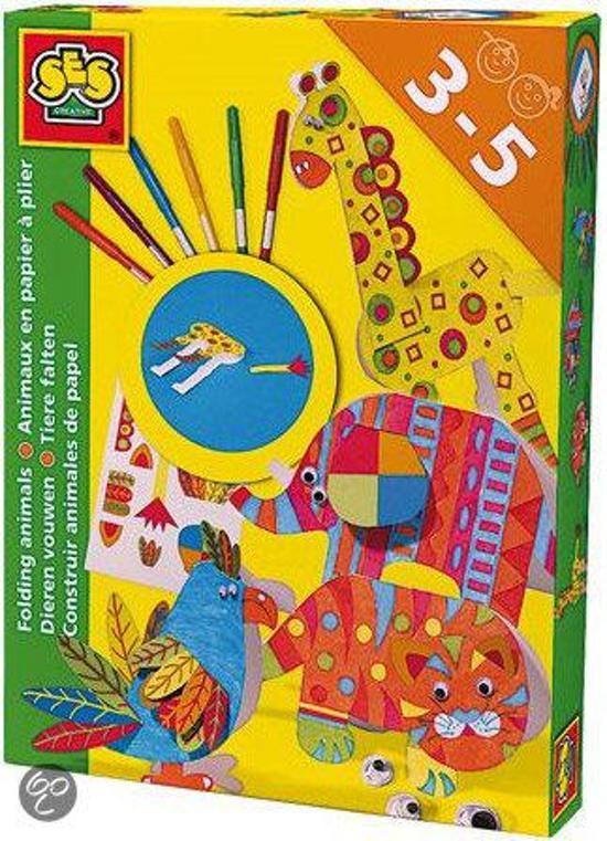 Bolcom Ses Dieren Vouwen Ses Speelgoed
