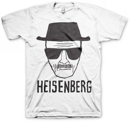 T-shirt Breaking Bad Heisenberg wit S