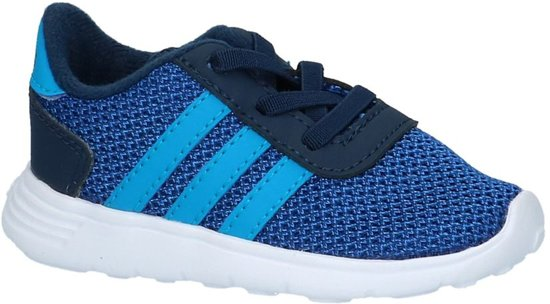 new style f21a7 8617f adidas - Lite Racer Inf - Lage sneakers - Jongens - Maat 19 - Blauw