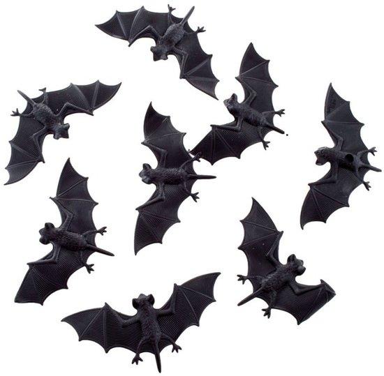 Welke Dag Halloween.Halloween 8x Plastic Vleermuizen 10 Cm Halloween Dieren