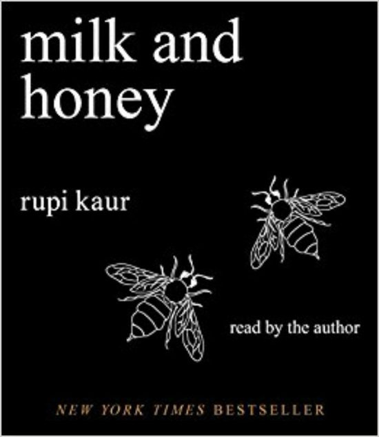 Boek cover Milk and Honey van Rupi Kaur (Onbekend)