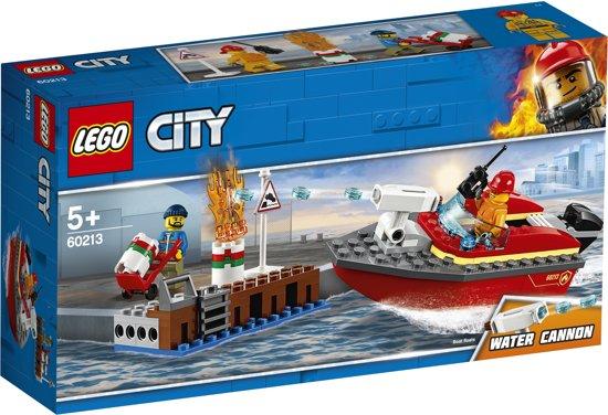 Afbeelding van LEGO City Brand aan de Kade - 60213 speelgoed