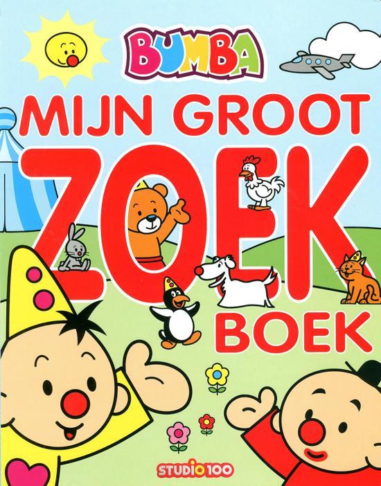 Boek cover Bumba - Mijn groot zoekboek van Gert Verhulst (Onbekend)