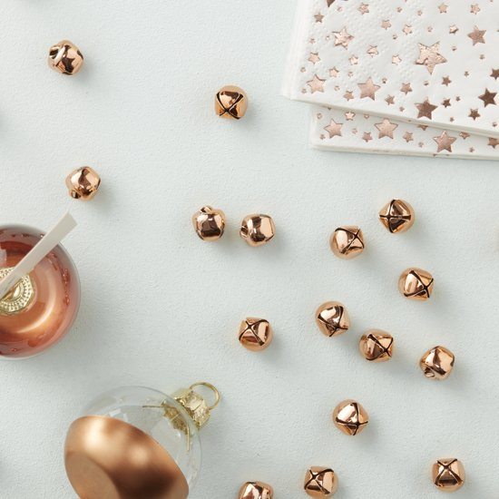 Mini bellen Rose Gold