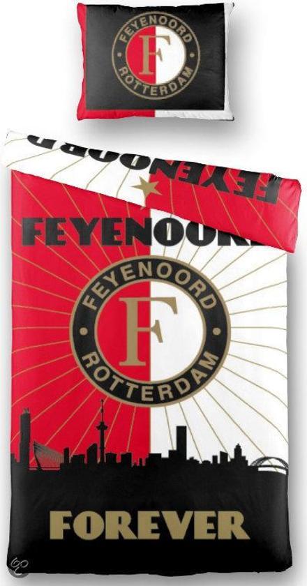 Feyenoord Dekbedovertrek 1 Persoons.Bol Com Feyenoord Dekbedovertrek 140x200 220 Cm 1