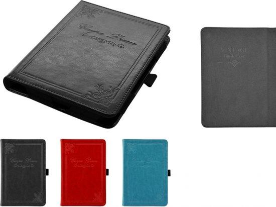 Vintage Carpe Diem Hoesje Case Cover voor Kindle 7 Ereader, zeer stijlvol hoesje, blauw , merk i12Cover in Rasquert