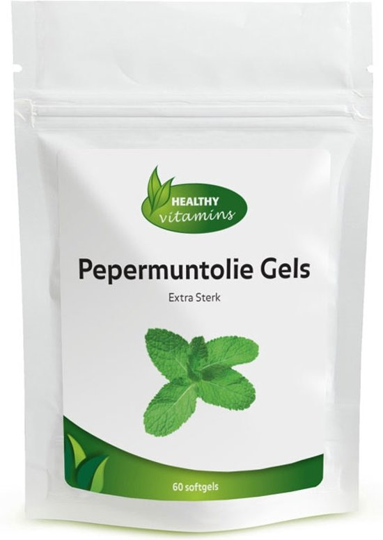 Pepermuntolie capsules - 60 softgels - Met enterische coating