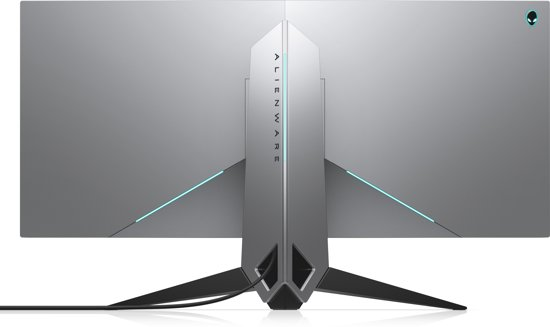 Alienware AW3418DW 34.14'' Ultra-Wide Quad HD+ LED Mat Gebogen Zwart, Zilver computer monitor LED display