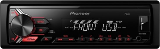 autoradio pioneer inclusief 1-DIN VOLKSWAGEN Golf 7 2012+ (Left Wheel) w/pocket frame Audiovolt 11-469 in Norg
