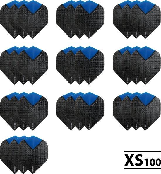 10 Sets (30 stuks) XS100 Skylight flights Multipack - Aqua