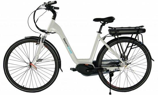 Doornbikes City Lite - E-bike - elektrische fiets - middenmotor Bafang - wit