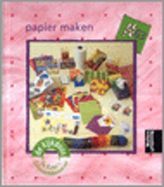 Boek cover Papier Maken van Marian van Gog (Hardcover)
