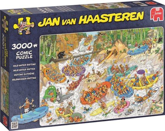 Jan van Haasteren Wild Water Raften - Puzzel 3000 Stukjes