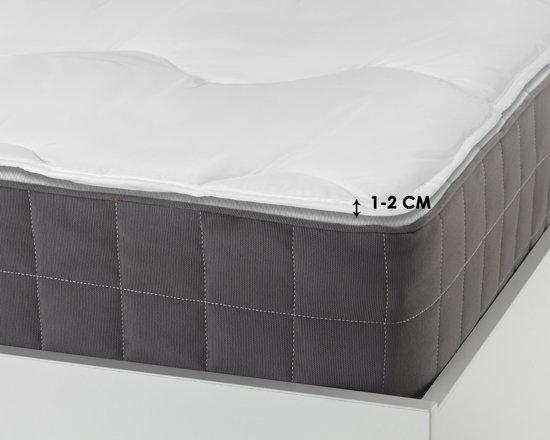 Sleeptime Luxury Hotel Matras Topper White-90 x 210 cm