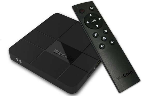Android 7.1.2 TV Streaming Box Kodi 17.5 - 2GB Ram - 16GB Opslag - WeChip V8 - T95N - x96 pro