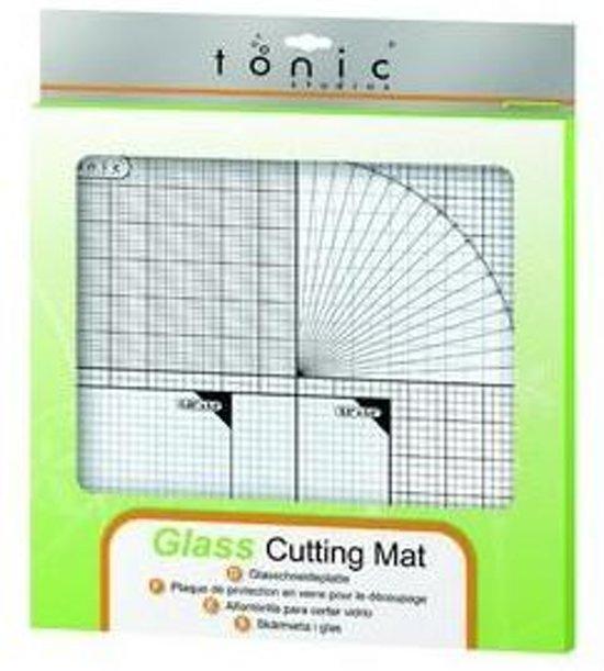 Tonic Studios Glazen Snijmat 30,5 x 30,5 cm