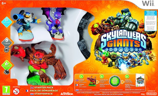 Skylanders Giants: Starter Pack - Glow in The Dark Edition - Wii
